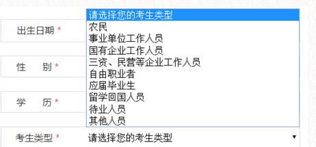 图:2019年国家公务员考试考生类别